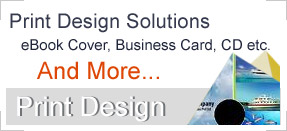 Print Design projects is about the eBook Cover, Business Cards, CD Cover, CD Level, DVD Cover etc.